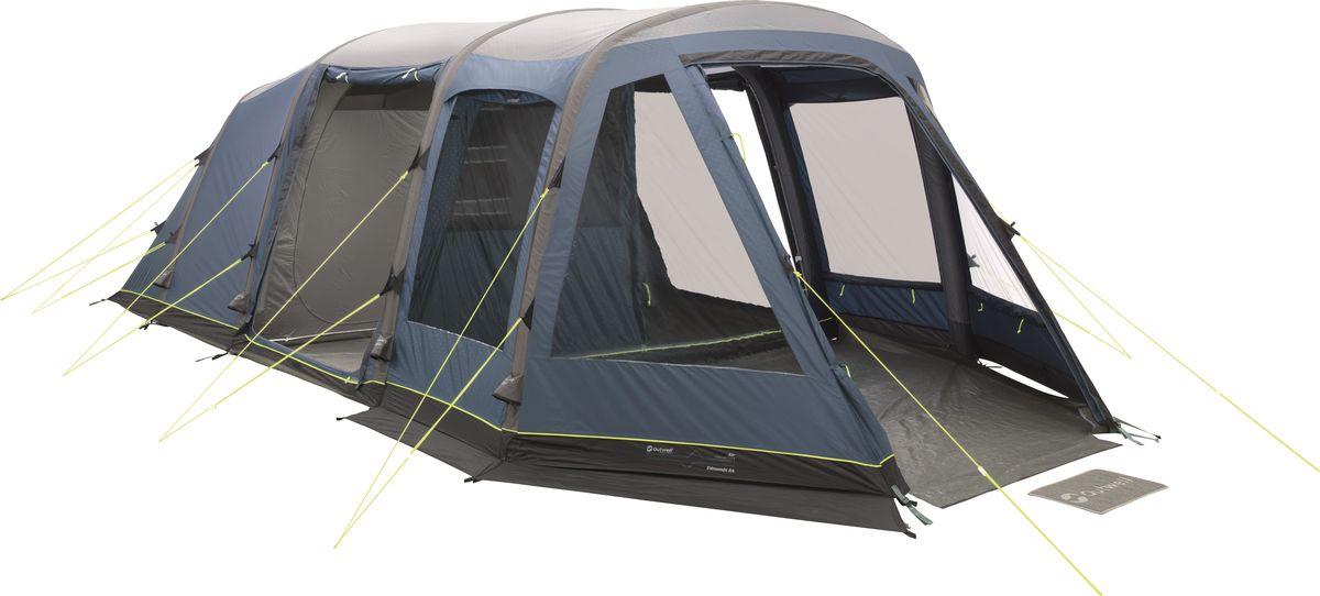 купить Палатка Outwell, 5-местная, цвет: серый, синий. 110759 недорого