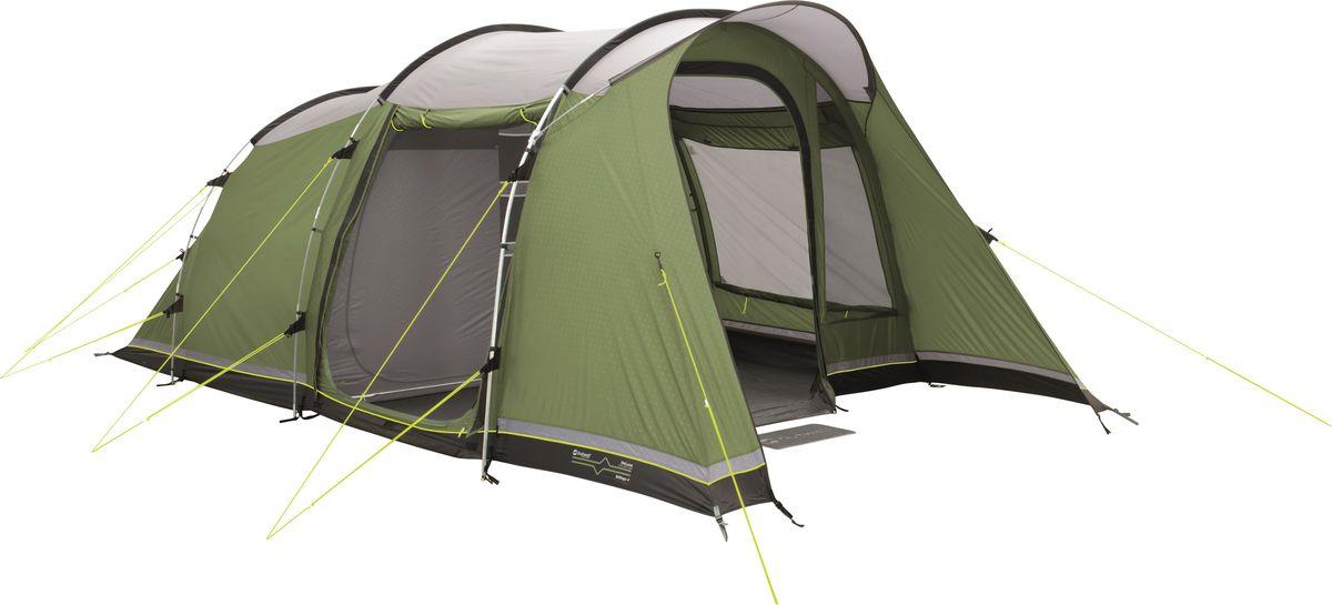 Палатка Outwell, 4-местная, цвет: зеленый, серый. 110761 палатка outwell 3 местная цвет серый зеленый 110563