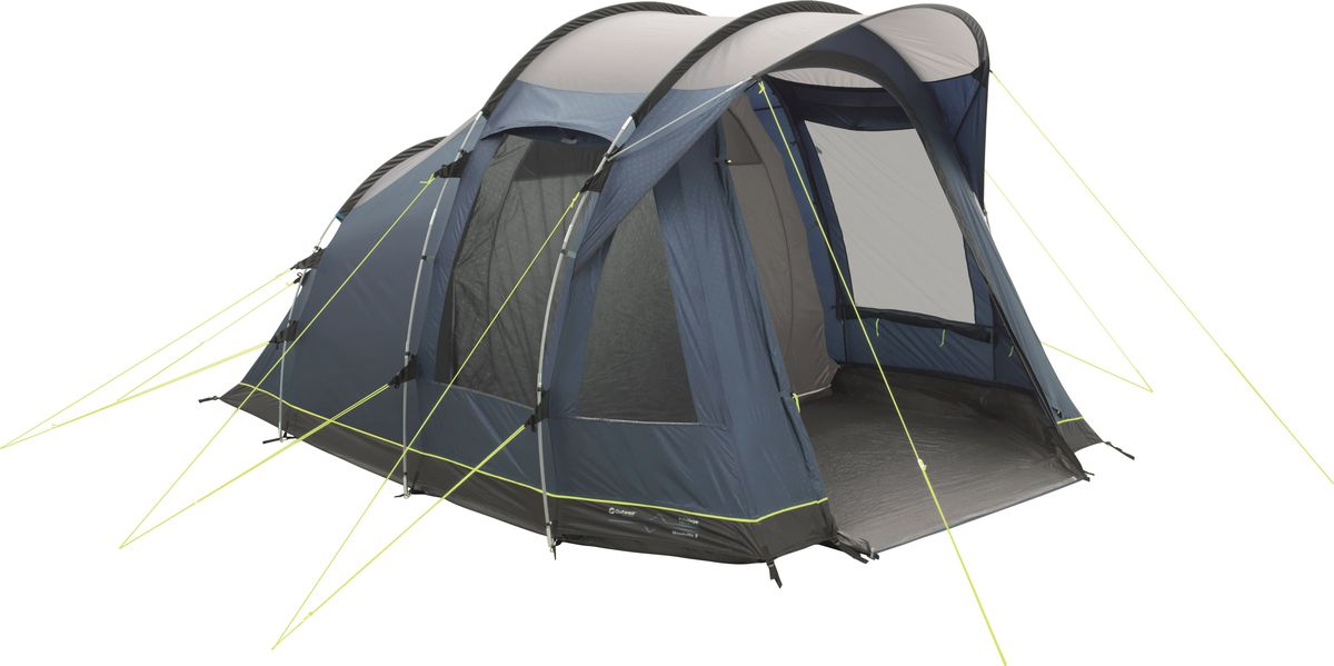 Палатка Outwell, 3-местная, цвет: синий, серый. 110777 палатка outwell 3 местная цвет серый зеленый 110563