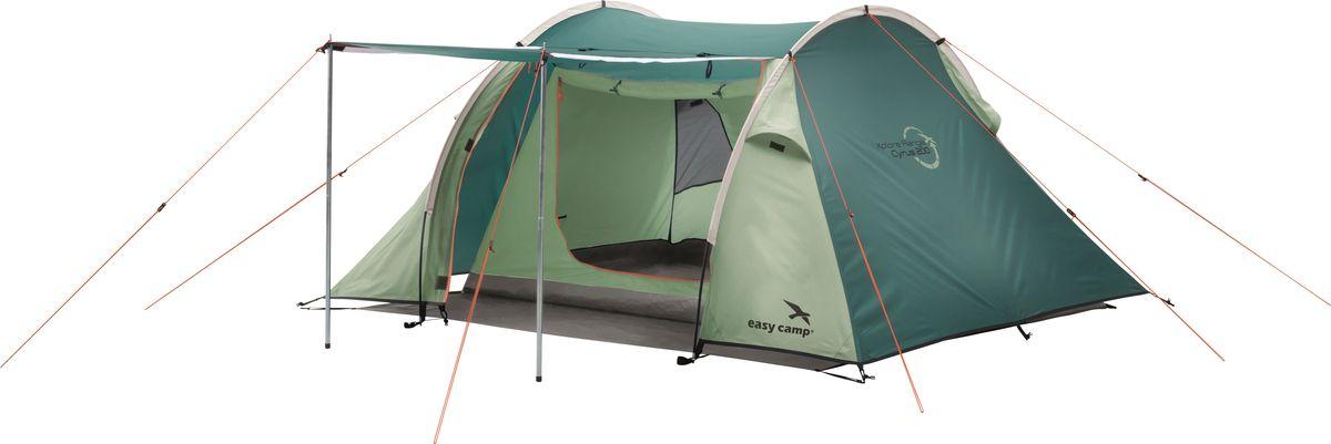 Палатка Easy Camp, 2-местная, цвет: зеленый, серый. 120279