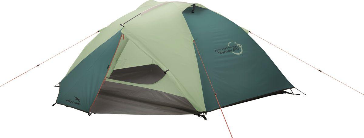 Палатка Easy Camp, 2-местная, цвет: зеленый, серый. 120283