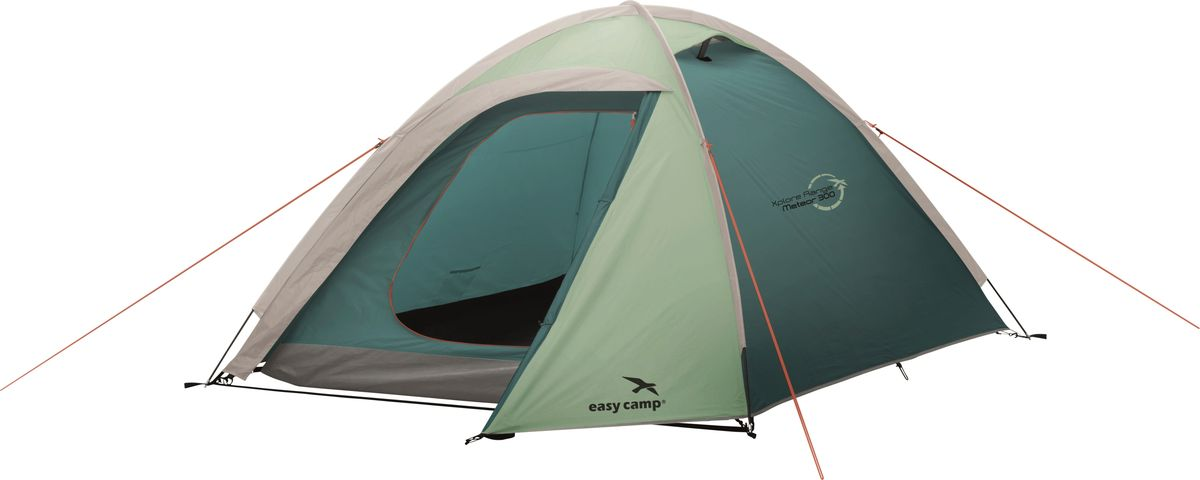 Палатка Easy Camp, 3-местная, цвет: зеленый, серый. 120291 цена