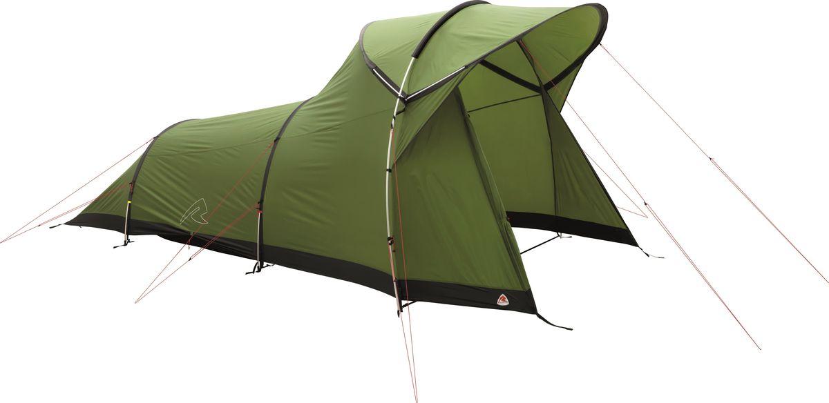 Палатка Robens, 3-местная, цвет: зеленый. 130184 тамбур берег