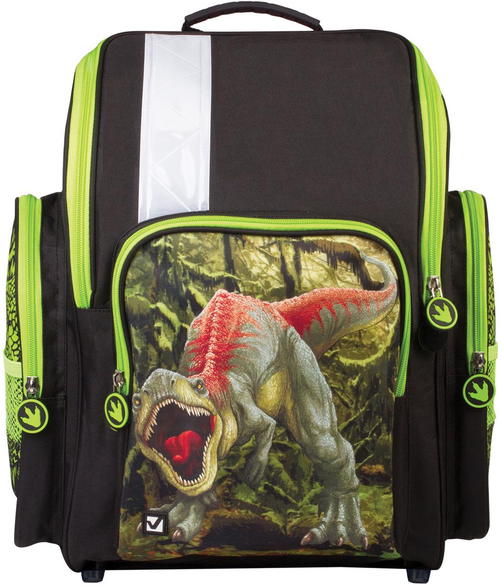 3a127f34c22c Brauberg Ранец школьный Динозавр 226285 — купить в интернет-магазине OZON.ru  с быстрой доставкой