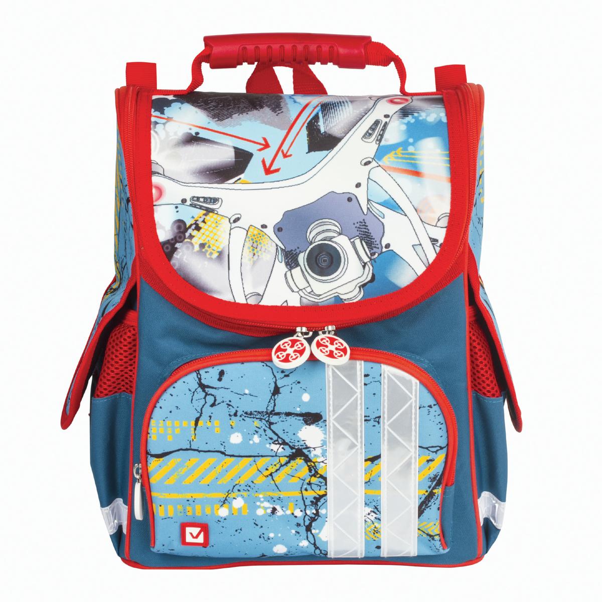Brauberg Ранец школьный Коптер 226914 школьные рюкзаки brauberg ранец коптер 17 л