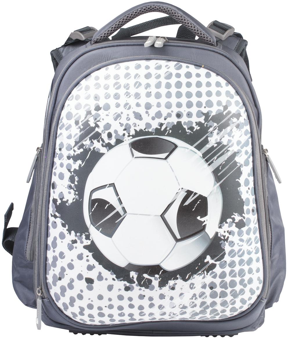 Brauberg Ранец школьный Футбольный принт. 226921