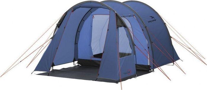 Палатка Easy Camp, 3-местная, цвет: синий. 120235