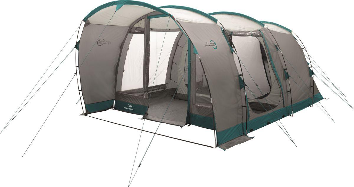 Палатка Easy Camp, 5-местная, цвет: серый, бирюзовый. 120272 эксмо 978 5 699 86073 9
