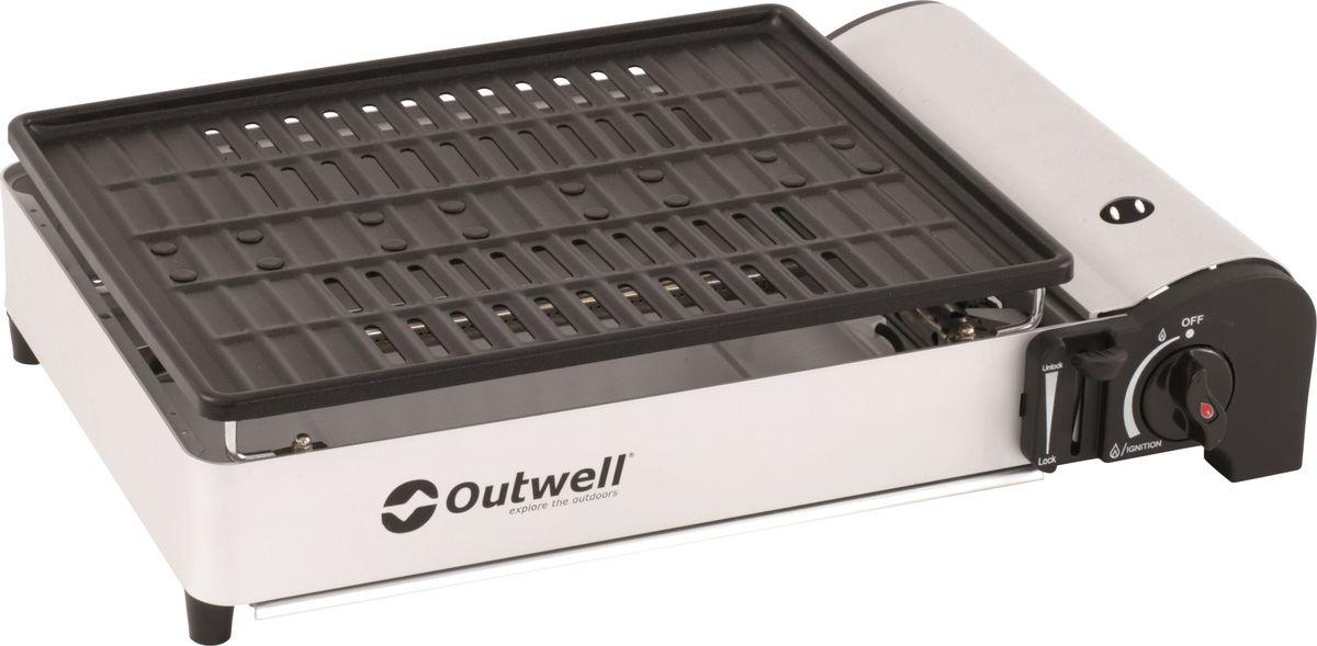 Гриль газовый Outwell BBQ Crest. 650797 решетка гриль forester большая с антипригарным покрытием 26х45 см bq ns02