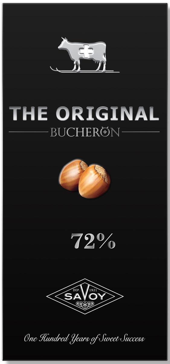Шоколад горький Bucheron the Original, с дробленым фундуком, 100 г14.2465Шоколад Bucheron the Original умеренной горькости, из смеси латиноамериканских и азиатских какао-бобов. Характерные нотки черники и лакрицы гармонично сочетаются с ореховой сладостью фундука.