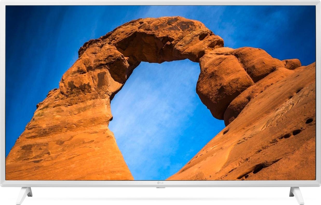 Телевизор LG 43LK5990PLE 43, белый tv led 43 lg 43lk5400 full hd smarttv