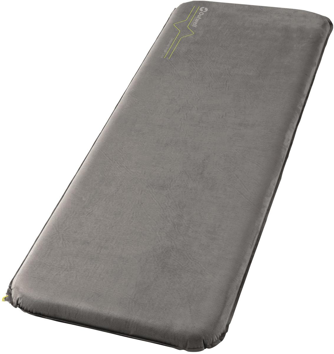 Коврик самонадувающийся Outwell Deepsleep Single, 195 х 63 х 7,5 см коврик самонадувающийся outwell dreamcatcher single 195 х 63 х 5 см