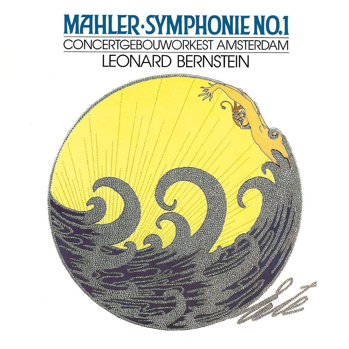 Леонард Бернштейн Leonard Bernstein. Mahler: Symphony No.1 (LP) mahler leonard bernstein symphonies nos 1 2