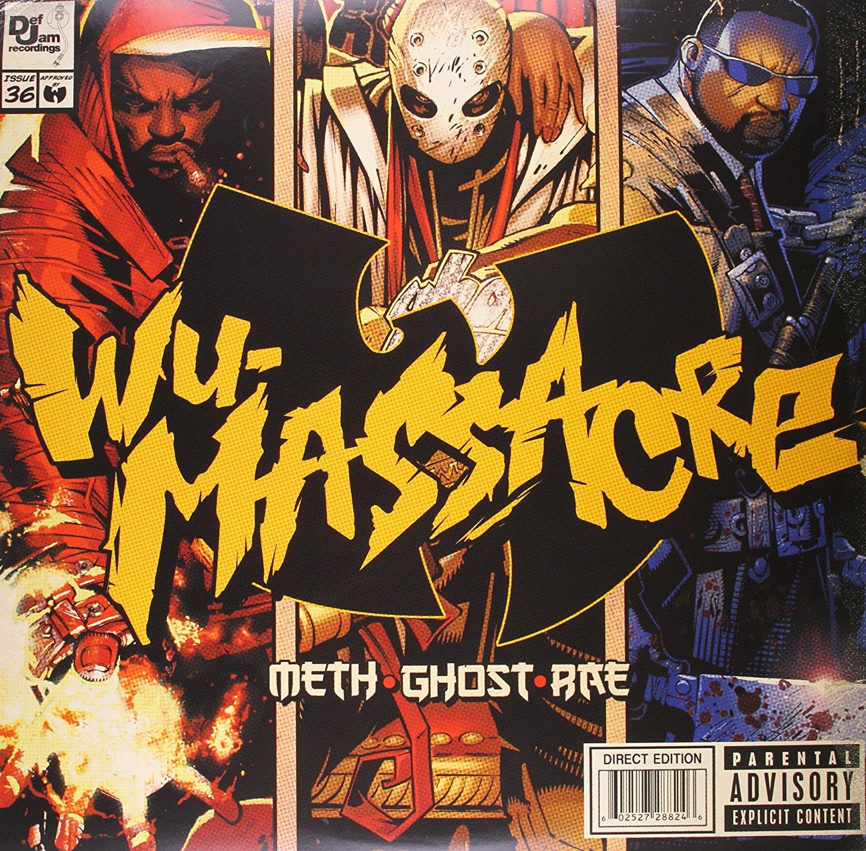 Meth, Ghost And Rae. Wu Massacre (LP) man