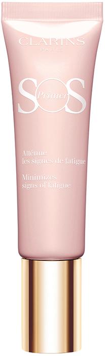 Clarins База под макияж, устраняющая следы усталости SOS Primer, тон 01 светло-розовый, 30 мл clarins база под макияж устраняющая следы усталости sos primer тон 01 светло розовый 30 мл