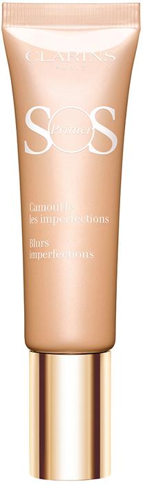 Clarins База под макияж, корректирующая несовершенства кожи SOS Primer, тон 02 бежевый, 30 мл
