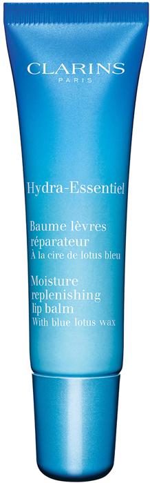 Clarins Увлажняющий и восстанавливающий бальзам для губ Hydra-Essentiel, 15 мл payot hydra 24 увлажняющий бальзам стик для губ 4 мл
