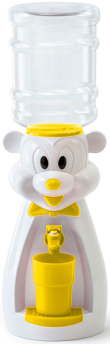 Кулер для воды Vatten Kids Mouse, White, со стаканчиком Vatten