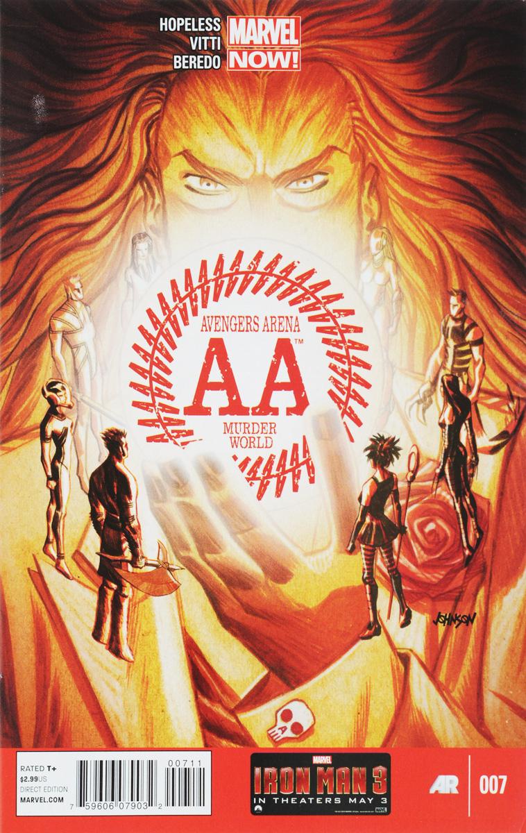 Hopeless, Vitti, Beredo Avengers Arena №7