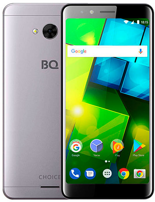 Смартфон BQ Mobile 5340 Choice 1/8GB, серый смартфон bq mobile bq 5007l iron moka