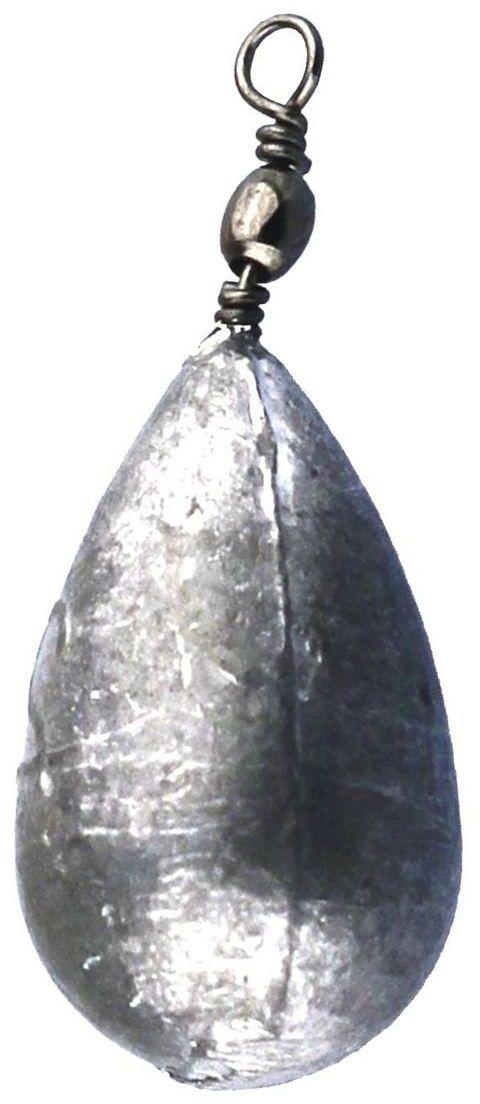 Груз Точка Лова, с вертлюгом, цвет: серый, 7 шт. Колокол-3,5ТЛ-НФ