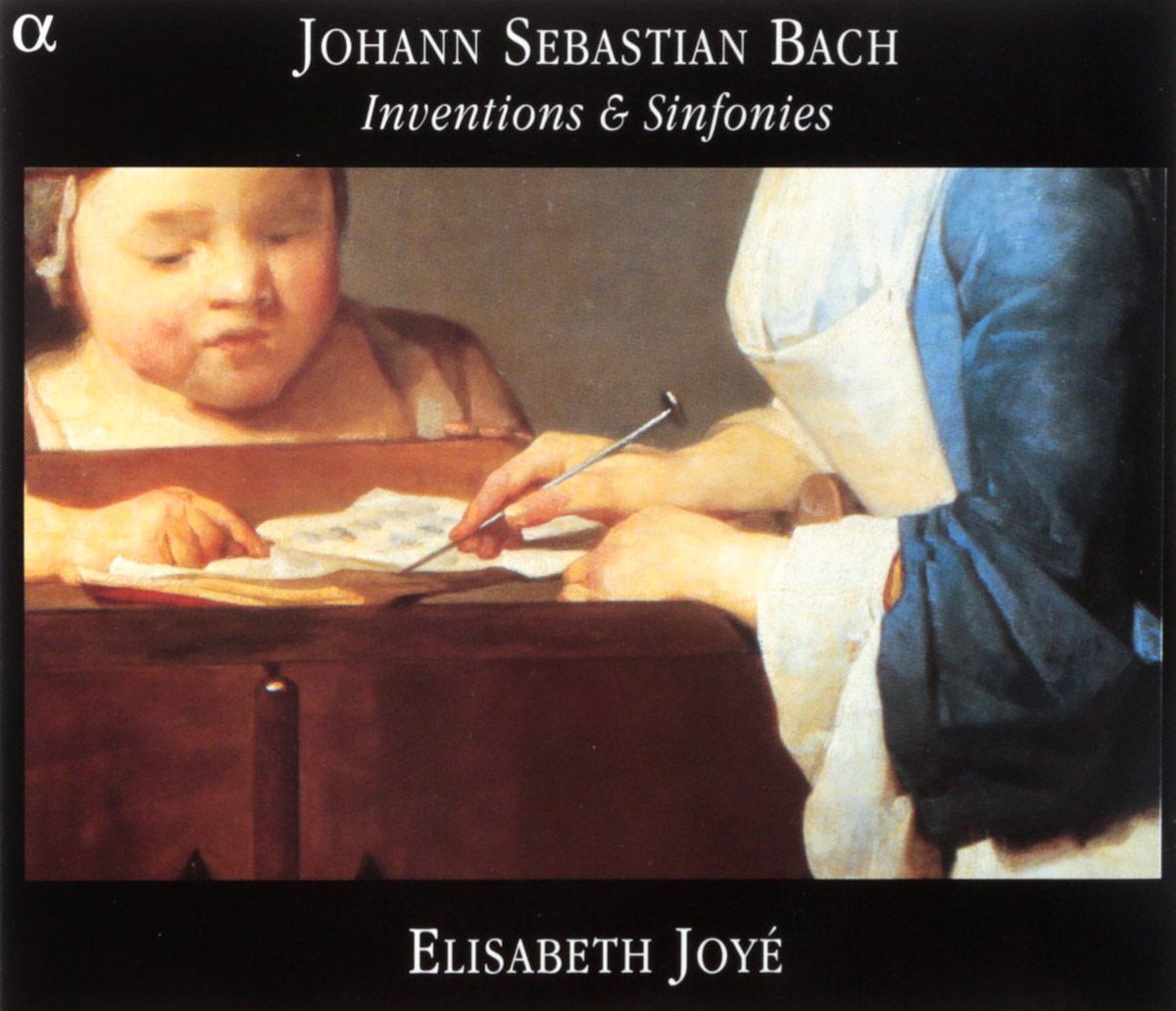 VARIOUS. BACH, J.S. / INVENTIONS (BWV772-786) & SINFONIES (BWV787-801)/ELISABETH JOYE, HARPSICHORD. 1