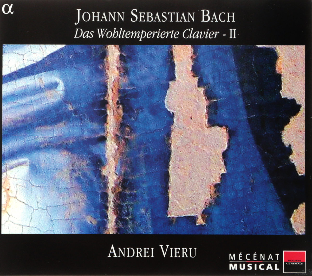 VARIOUS. BACH, J.S./THE WELL-TEMPERED CLAVIER, VOL.II BWV870-893/ANDREI VIERU (PIANO). 3 недорго, оригинальная цена