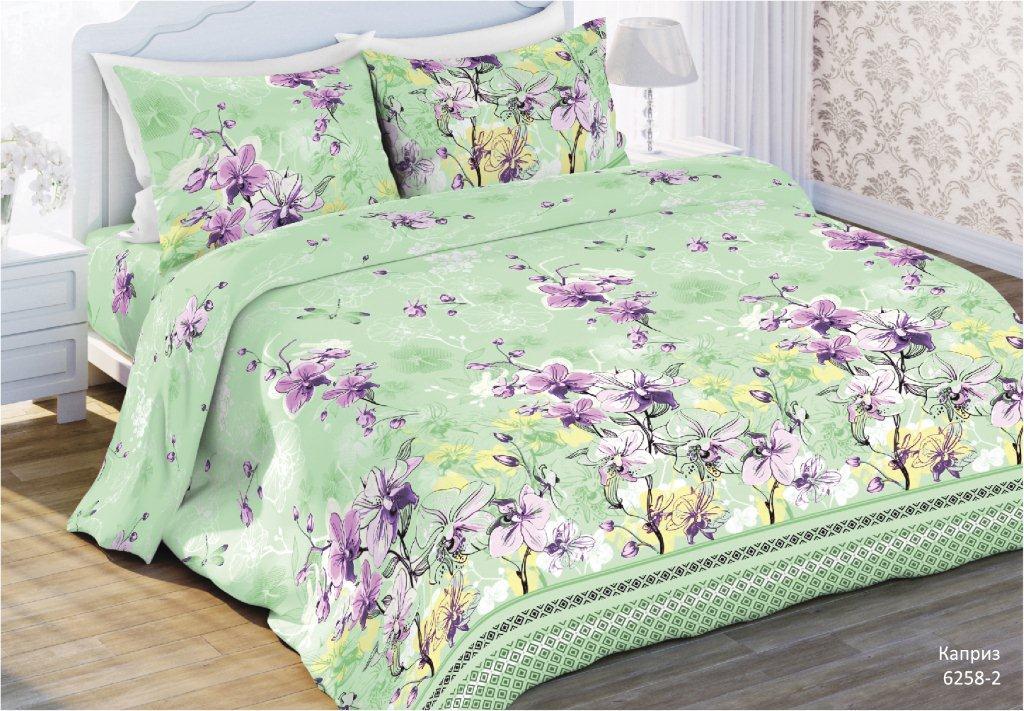 Комплект постельного белья Любимый дом Каприз, 2-х спальное, наволочка 70 x 70 любимый дом полотенце махровое клео 35 70 любимый дом фиолетовый