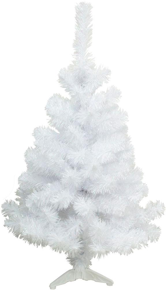 Ель искусственная Morozco Радужная, цвет: белый перламутр, высота 120 см ель искусственная morozco настольная цвет серебристый высота 30 см