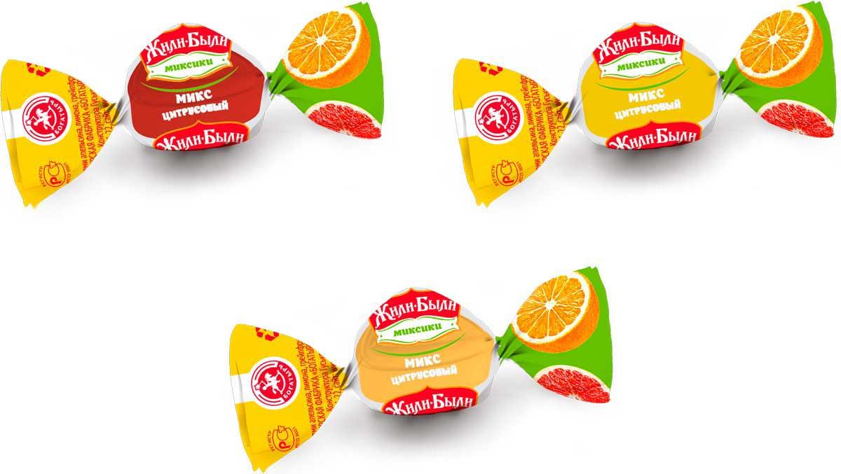 Кондитерская фабрика Богатырь Жили-были микс цитрусовых вкусов лимон, апельсин, грейпфрут, 1 кг игра жили были… djeco игра жили были…