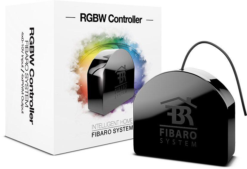 цена на Модуль управления FIBARO RGBW LED-лентами SMART HOME RGBW CONTROLLER, черный