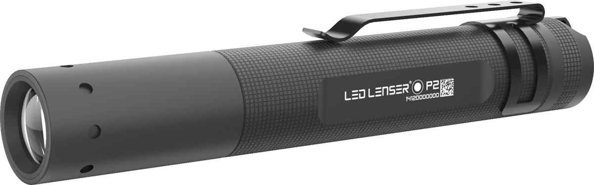 Светодиодный фонарь LED Lenser P2-BM, цвет: черный