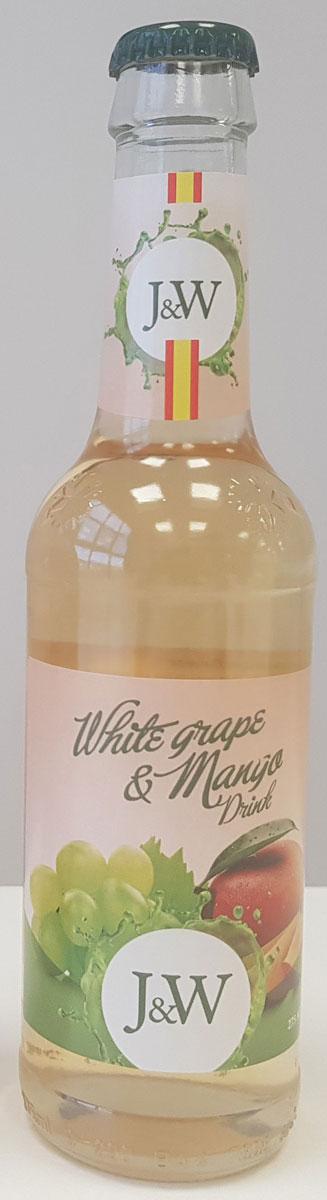 J&W Сок белого винограда со вкусом Манго газированный, 0,275 л j w jasykowa ilja glasunow