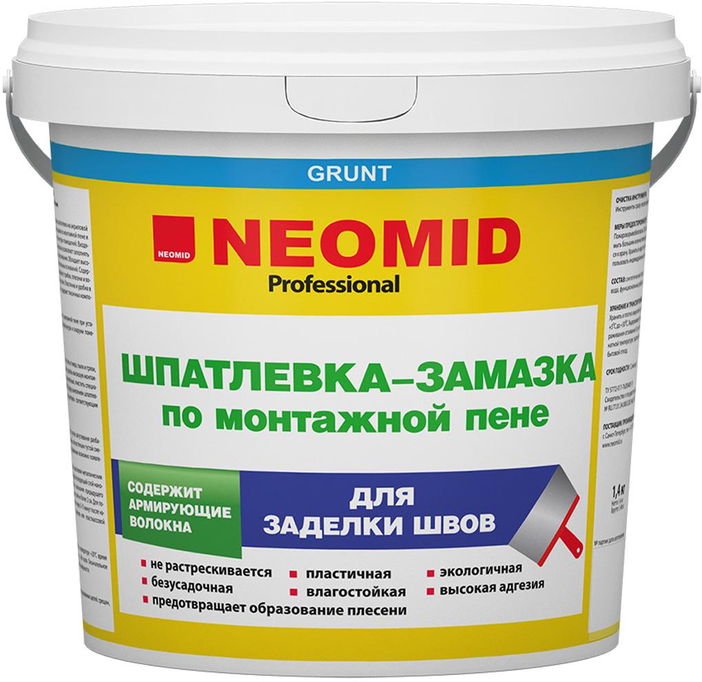 Шпатлевка по монтажной пене Neomid
