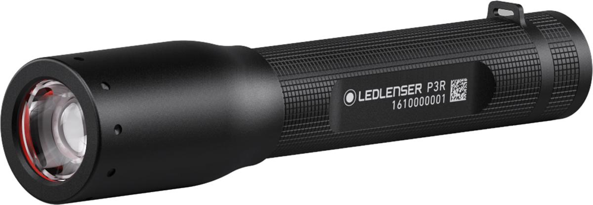 Фонарь ручной Led Lenser P3R usb перезаряжаемый высокой яркости ударопрочный фонарик дальнего света конвой sos факел мощный самозащита 18650 батареи