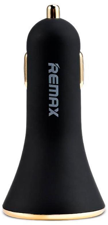 REMAX Car Charger RCC302, Black автомобильное зарядное устройство remax alien series car charger rcc304 black автомобильное зарядное устройство