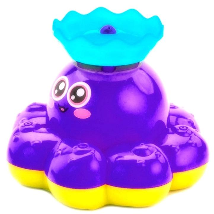 Bradex Игрушка детская для ванны Фонтан-осьминожка цвет фиолетовый