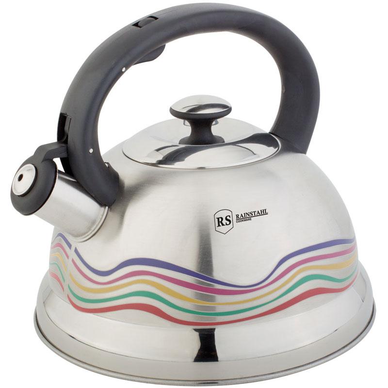 Чайник RAINSTAHL 7640-27RS\WK чайник rainstahl со свистком цвет белый 2 7 л 7642 27rs wk