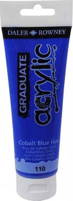 Daler Rowney Краска акриловая Graduate цвет кобальт синий 120 мл