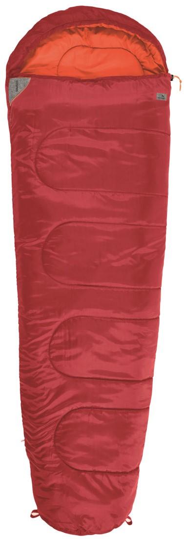 Спальный мешок-кокон EasyCamp Cosmos, цвет: красный, 210 х 75 х 50 см спальные мешки для малышей happybabydays комплект