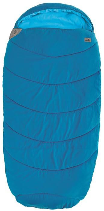 Спальный мешок-кокон EasyCamp Ellipse, цвет: голубой, 210 х 100 см