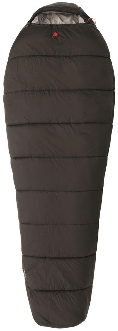Спальный мешок-кокон Robens Glacier I, правосторонняя молния, цвет: черный, 220 х 85 х 55 см спальные мешки для малышей happybabydays комплект
