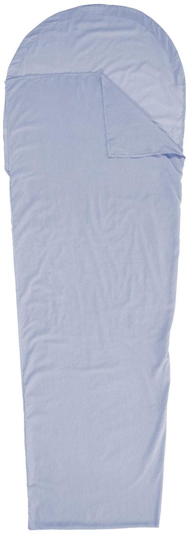 Вкладыш в спальник-кокон EasyCamp Travel Sheet Mummy, 210 х 75 х 50 см сколько ткани нужно для пошива 2 х спального комплекта