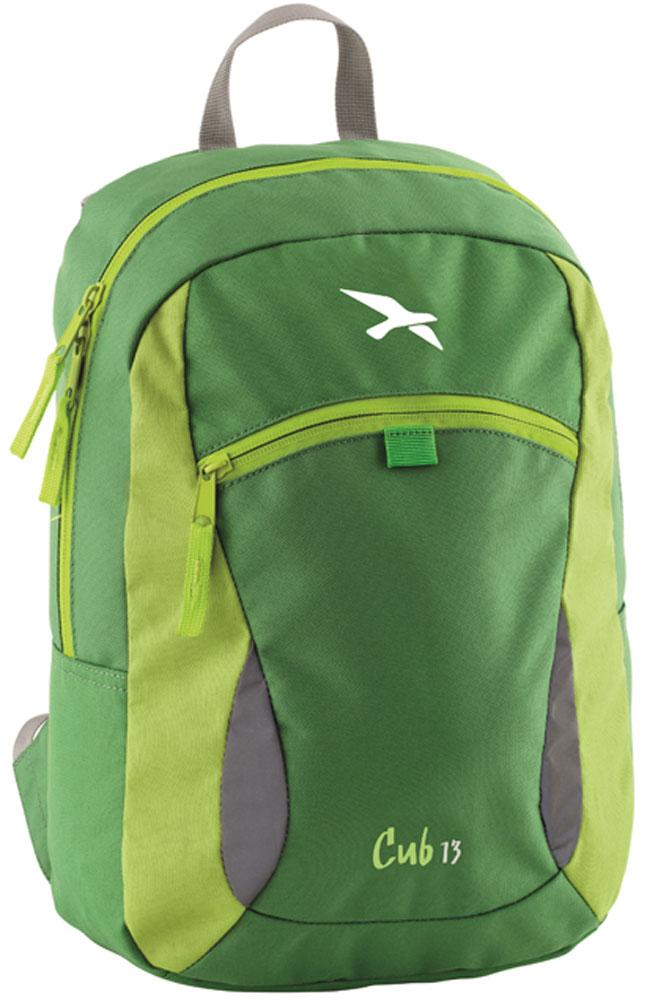 Рюкзак городской Easy Camp Cub Green, детский, 13 л рюкзак туристический easy camp en route 360109 55 л черный