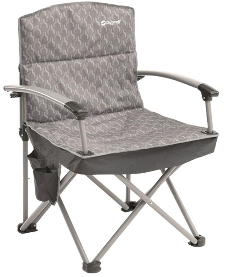 Кресло складное Outwell Gorman Hills цвет: серебристый, 66 х 60 х 95 см стул outwell fergus 410066