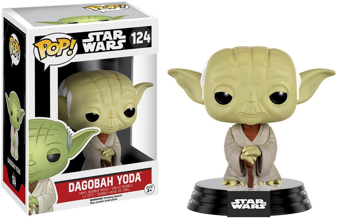 Funko POP! Bobble Фигурка Star Wars: Dagobah Yoda funko pop bobble фигурка star wars rogue one young jyn erso 14872