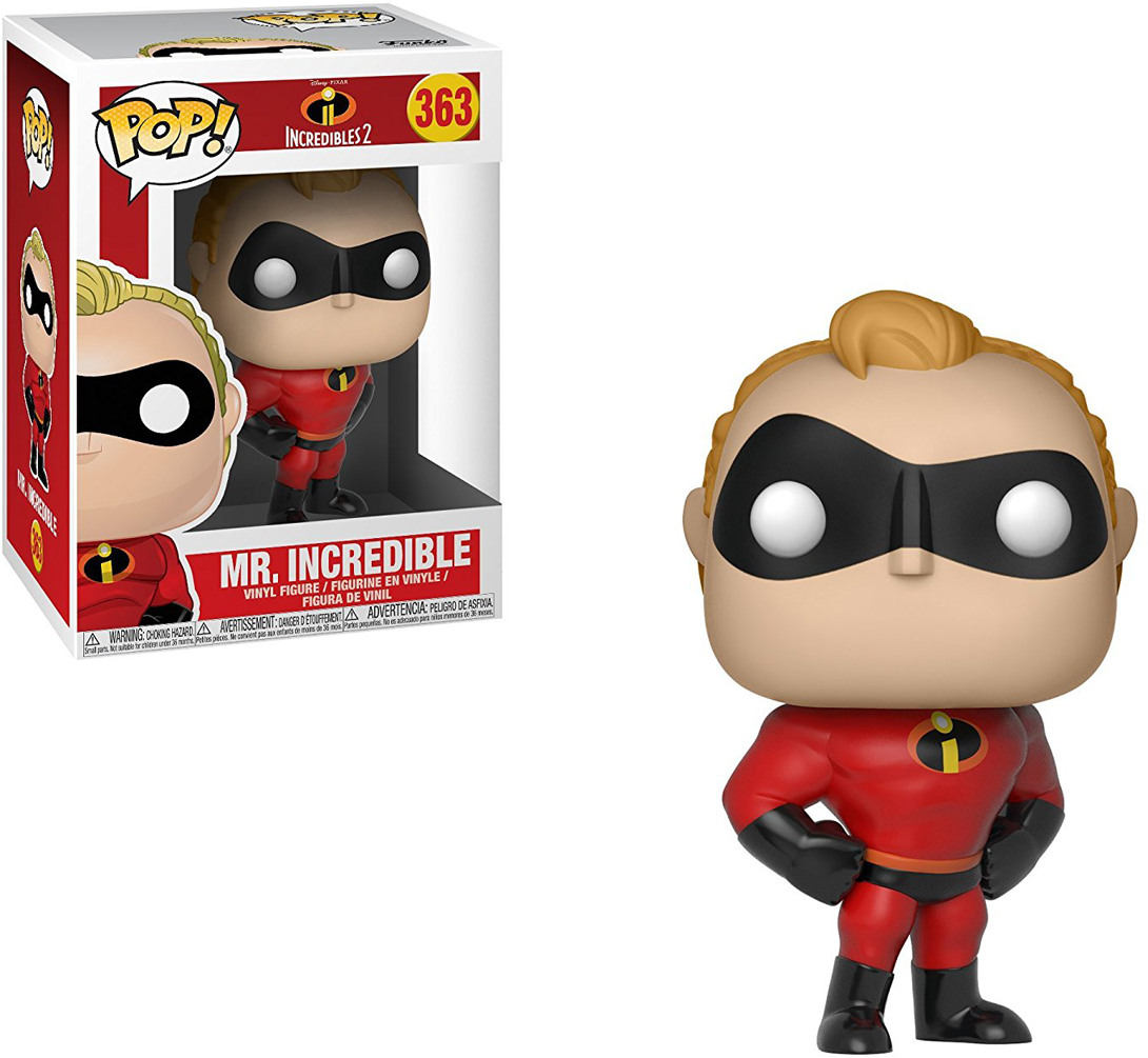 Funko POP! Vinyl Фигурка Disney Incredibles 2: Mr Incredible funko pop vinyl фигурка disney incredibles 2 frozone