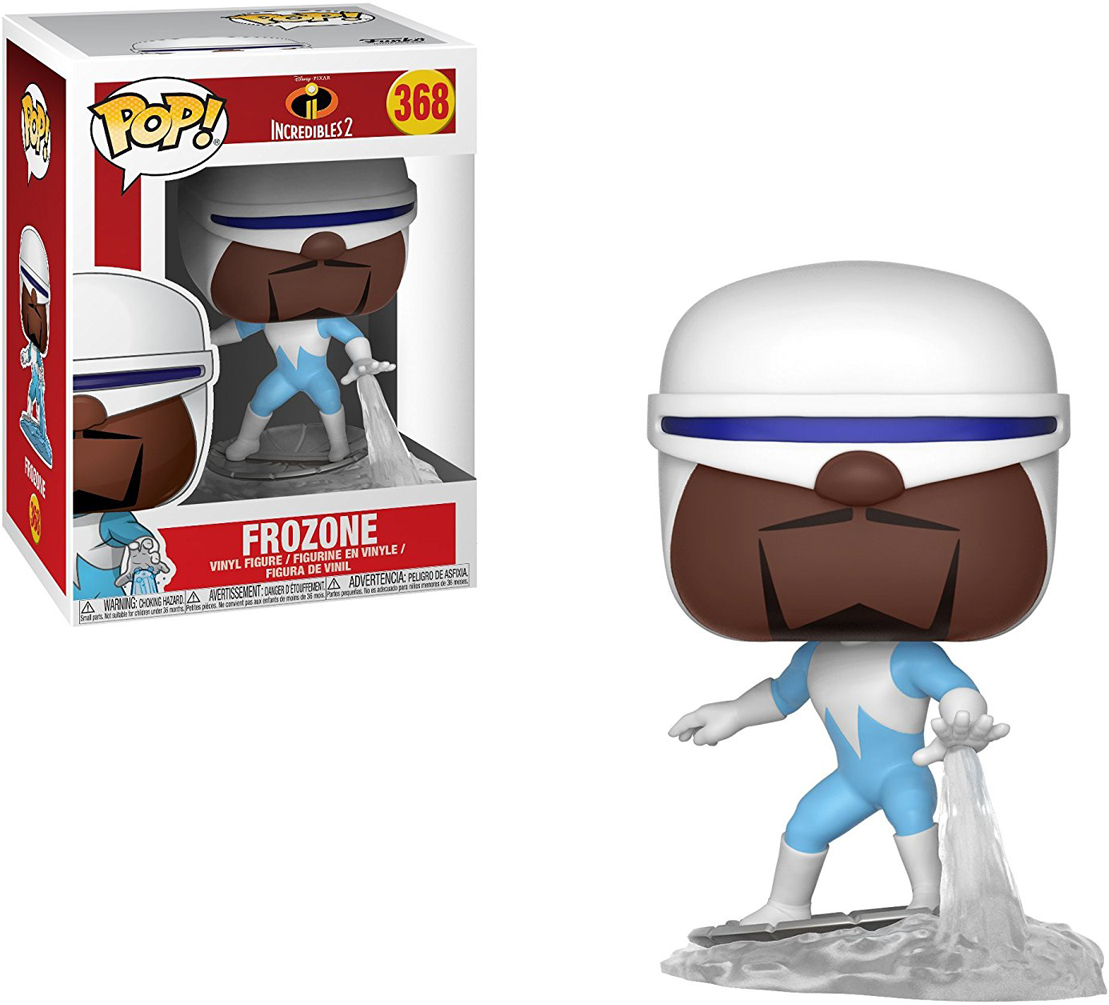 Funko POP! Vinyl Фигурка Disney Incredibles 2: Frozone funko pop vinyl фигурка disney incredibles 2 frozone