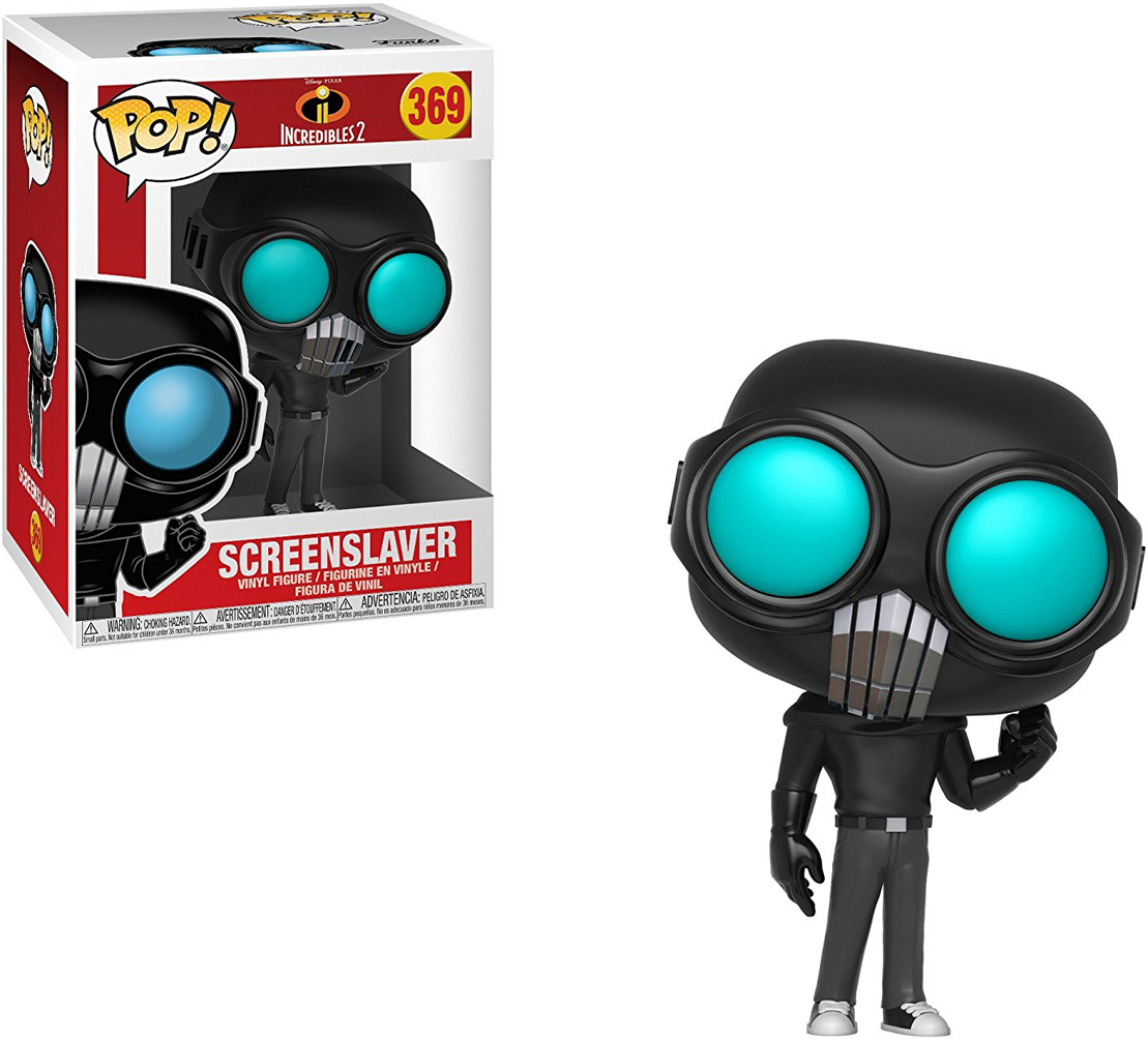 Funko POP! Vinyl Фигурка Disney Incredibles 2: Screenslaver funko pop vinyl фигурка disney incredibles 2 frozone