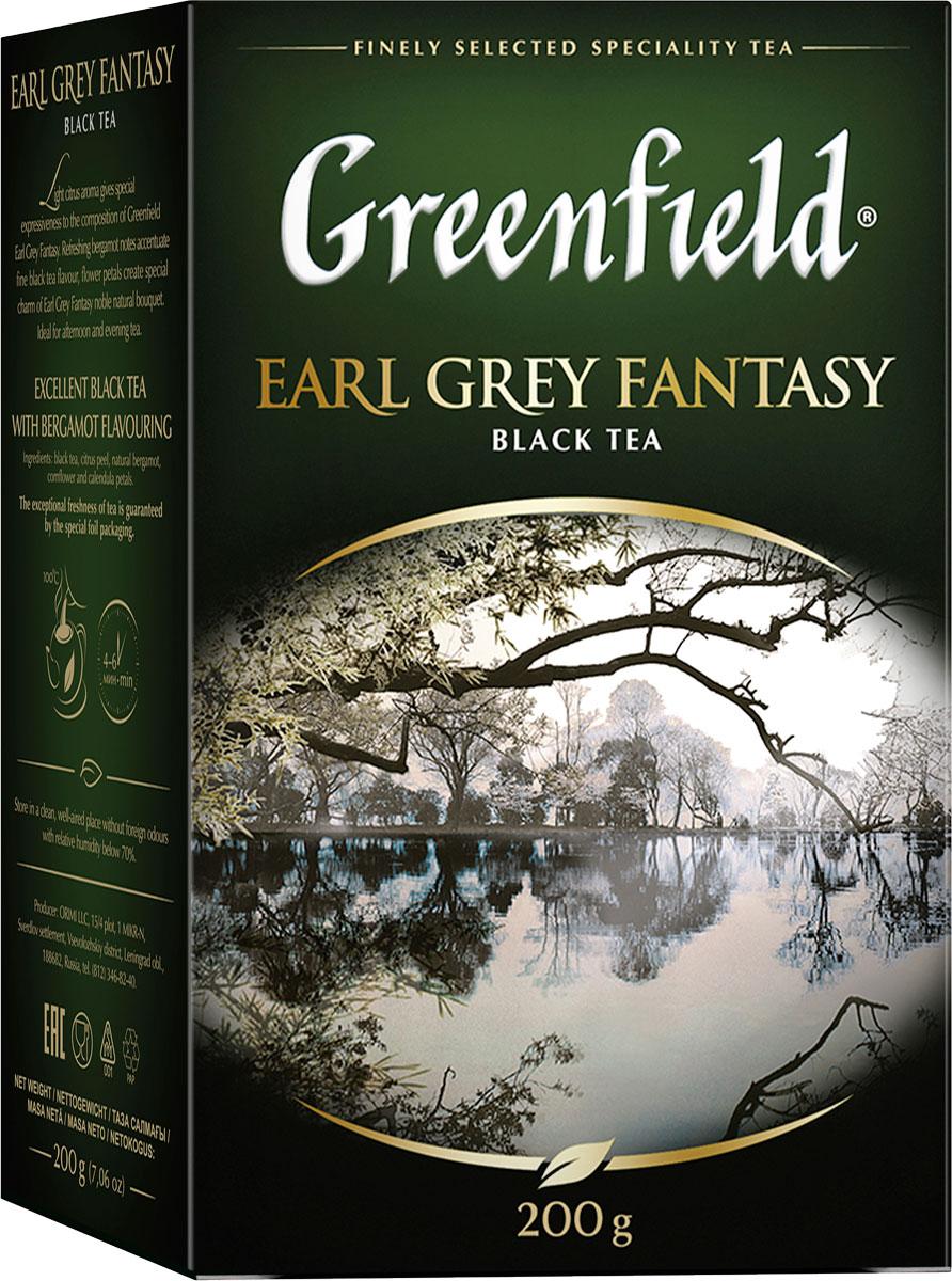 Фото - Greenfield Earl Grey Fantasy черный листовой чай, 200 г greenfield earl grey fantasy черный листовой чай 200 г